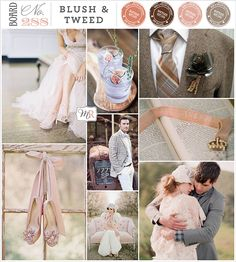 Board #288: Blush & Tweed