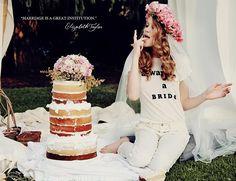 Wildfox Couture Royal Romance Summer 2014 Lookbook  #bridalfashion #fashion