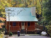 Pigeon Forge, TN: Pigeon Forge chalet rentals: Bluff Mountain Cabin 289 is a 1 bedroom plus loft bedroom, 1 1/2 bath log cabin located about 5 miles from downtown Pigeo...
