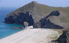 Playa de Los Muertos Carboneras (Parque Natural Cabo de Gata), Almeria SPAIN