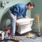 Install Toilet