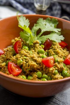 [indisch] Keema Mattar - würziges Lammhack-Curry mit Erbsen