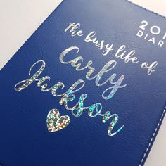 This item is unavailable Personalised Diary, Busy Life, One Color, Texts, My Etsy Shop, Notes, Messages, Check, Report Cards