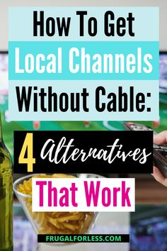 Are you one of those people who would like to have a more affordable way to view local programs without having to sell everything you own in order to afford them? If this applies to your situation, then read on. Moving Out Checklist, How To Apply, How To Get, Financial Goals, Ways To Save Money, Frugal Living, Saving Money, Cable, Alternative