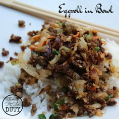 This was a new recipe for the family this week and it was so fast and so delicious!! All three kids ate it up! It seriously tastes like the inside of an egg roll, without the added calories of a wrapper and deep frying. Let me know if you try it!! You can print the … … Continue reading →
