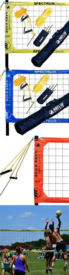 Nets 159131: Park And Sun Sports Spectrum Classic: Portable Professional Outdoor Volleyball Net -> BUY IT NOW ONLY: $301.03 on eBay!