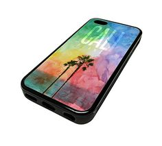For Apple Iphone 5 or 5s Cute Phone Cases for Girls Teens Surf Beach City California Cali Design Cover Skin Black Rubber Silicone Teen Gift Vintage Hipster Fashion Design Art Print Cell Phone Accessories MonoThings http://www.amazon.com/dp/B00KYF28OW/ref=cm_sw_r_pi_dp_zl6Ntb06ZXE9PTPD