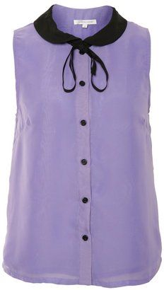 Glamorous Lilac Peter Pan Collar Top from A/wear - Was £ 20.99 now £15