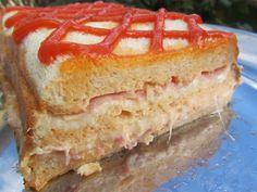 La Juani de Ana Sevilla: Pastel de sandwich
