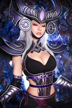 ☆ #CosplayStyle☆ [Riot Games] League of Legends – Syndra   Tasha Spiral Cats  Spiral Cats