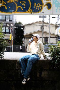 ストリートスナップ渋谷 - Safilさん - CONVERSE, NIKE, scientist, used, コンバース, サイエンティスト, ナイキ, 古着