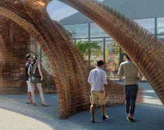 The Largest 3D Printed Structure Entrance celebrates Design Miami 2016  www.miamidesigndistrict.eu #miamidesigndistrit #homedecorideas #topidflorida