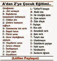 Neşe'nin gözdeleri Kids Education, Special Education, Education Quotes, Meaningful Lyrics, Learn Turkish Language, Richard Feynman, Kids Health, School Counseling, Child Development