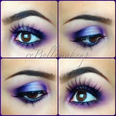 Purple eyeshadow Perfect for brown and hazel eyes!