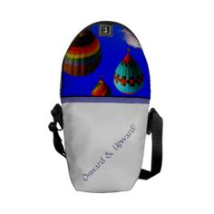 Air Balloon Design Messenger Bag Air Balloon Design by Bobbee Rickard of BobbeeJs Online Store, Fine Art America and Indie Reno Artists Group.