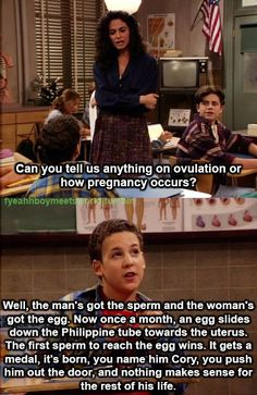Boy Meets World on the Birds and the Bees