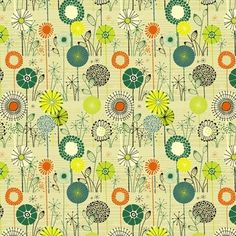 fabric -- love the colours and design