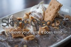 Skinny Oreo Dip Recipe! #oreo #recipes