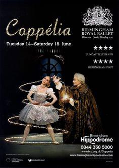 Coppélia, Birmingham Hippodrome, 2011 by Birmingham Royal Ballet, via Flickr