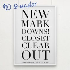 Look For Items $10 & Under Making room for new listings. New markdowns. Dresses