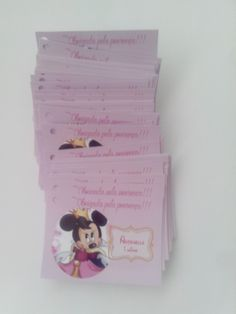 Tag para lembrancinha festa Minie Princesa <br>*Fazemos em todos os temas <br>Papel Peso 180 gr. , ótima qualidade. <br> <br>Ateliê Melana Agradece sua visita!