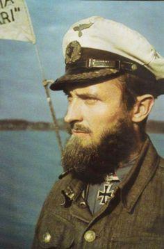 Kapitänleutnant Robert Gysae LIFE Image