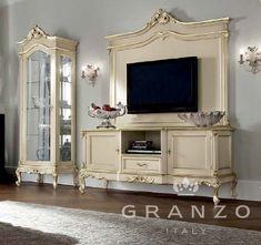 Тубма под TV 12110A (Мебель для TV Modenese Gastone) | Итальянская мебель на заказ от компании «GRANZO»