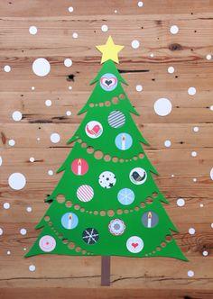 Kerstboom voor onder je Tafelziel