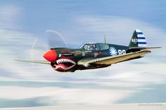 P-40  FLYING  TIGER by aircraft-photos