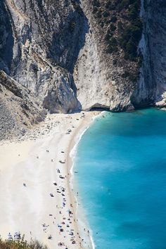 Top 10 Paradise Beaches In Greece.  Myrthos Beach, Kefalonia