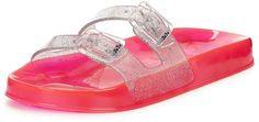 Ju Ju Erin Jelly Slide Sandals