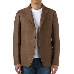 ハニカムウール2Bジャケット/モンテカルロ | タリアトーレ(TAGLIATORE)公式通販 - JACKET REQUIRED
