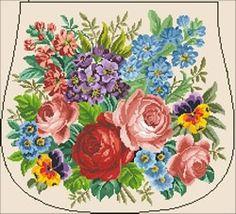 Gallery.ru / Фото #85 - Berlin woolwork. Floralneedlepointdesigner. Платные схемы. - Nadezhda2014