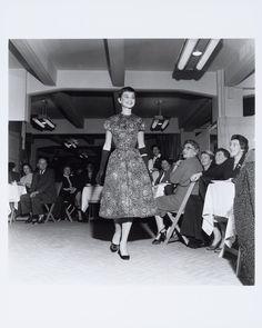 Bezoek Audrey Hepburn aan Nederland, modeshow bij Gerzon (1 en 2 november 1954)
