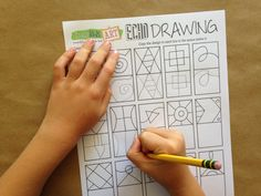"""Learning to draw with """"Echo Drawing"""" - learning to see like an artist through practice."""