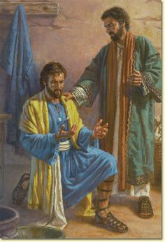 Saul and Annanias