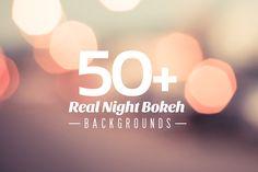 Check out 50+ Real Night Bokeh Backgrounds by viktorhanacek on Creative Market