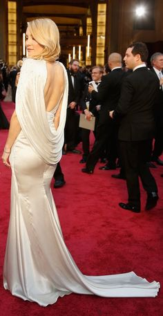 The back of Kate Hudson's dress stole the show.