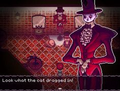 Stray Cat Crossing is an indie horror adventure game, much like The Witch's House and Ib, with additional inspiration from Alice in Wonderland, Spirited Away, Pan's Labyrinth, and The Nightmare Before Christmas. For more updates, please visit our devblog: straycatcrossing.tumblr.com