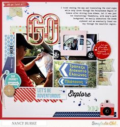 Go by Nancy Burke using the Scraptastic Club Can't Go Home kit