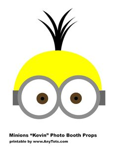 Minions Party Booth Props Free Printables + Balloon Tower - Any Tots Minion Birthday, Minion Party, Minion Theme, Kid Party Favors, Party Props, Party Ideas, Party Hats, Photos Booth, Photo Booth Props