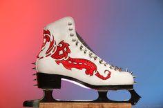 Patins exclusivos, leiloados no Art Skate - ISU World Figure Skating Championships