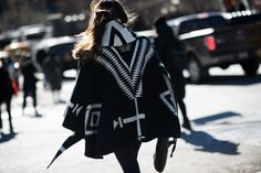 On the Streets of New York Fashion Week Fall 2015 - New York Fashion Week Fall 2015 Street Style Day 2 Gypsy is never out!