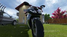 Proiect de casă parter cu mansarda la calcan - Violeta by AIA Proiect - ... Case, Golf Bags