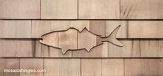 Mosaic Shingle Company crafts beautiful shingle design kits, right here in the U. Cedar Shingle Siding, Cedar Shake Siding, Cedar Shakes, Cedar Shingles, House Trim, House Siding, Up House, River House, Rustic Houses Exterior