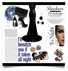 """""""Night Diva"""" by oliverab ❤ liked on Polyvore featuring NYX, La Regale, Bling Jewelry, Jin Soon, NightOut and Diva"""