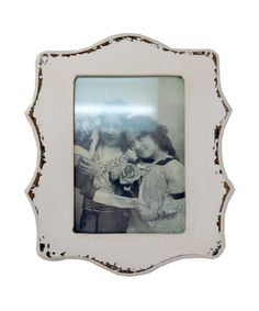 Take a look at this White Embellished 5'' x 7'' Frame by VIP International on #zulily today!