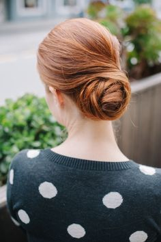 How To: The Rosebud - Cute updo bun hairstyles, hair tutorials, hair colors, cleanses, pretti updo, updos, roses, wedding hairs, get the look