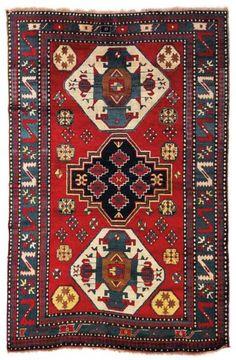 Lot 20. Lori Pambak, Southwest Caucasus, c. 230 x 156 cm, end of the 19th century.. Oriental Carpets, Textiles and Tapestries at Dorotheum 16 September 2014