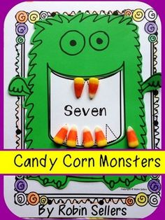 candy corn math monster